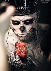 """Zombie Boy"" by Polish photographer Darek Slusarski is how I'd want my Baron Samedi to look. Hot, hot, HOT!"