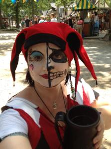 I like to dress Hel-ishly when going to the Bristol Renaissance Faire.