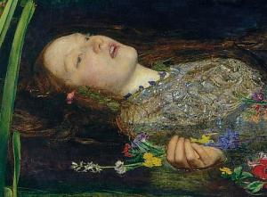 Dante Gabriel Rossetti's stunning Ophelia