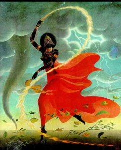 Oyá the Fighting Queen, Wielder of the Lightning and Powerful Winds of Change