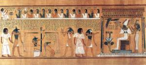 The Weighing of the Pharaoh Ani's Heart Before the Throne of Ausar