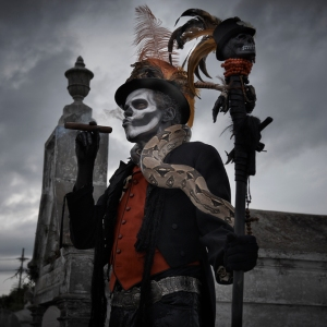 Baron Samedi is the Lwa embodiment of Amor et Mortem. Photo by Matt Barnes Photography.