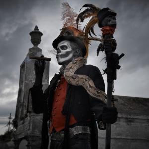 Baron Samedi is the Lwa embodiment of Amor et Mortem. Photo by Matt Barnes Photography.