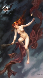 The Witches' Sabbat by L. Ricardo Falero