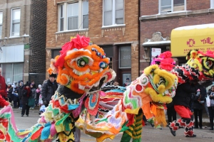 Chicago's Chinatown always throws a great party on Wentworth Ave. for the Lunar New Year.