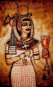"""""""Isis the Queen."""" Copyright (c) 2015 Amara Astrum. Used with permission of the artist."""