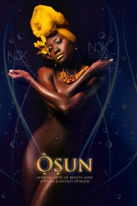 "A stunning interpretation of Oshun from the amazing digital photography series of ""Yoruba African Orishas"" by James C. Lewis. You can order his prints at: http://fineartamerica.com/profiles/1-cornelius-lewis.html"