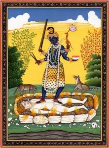 Kali on Shiva 2