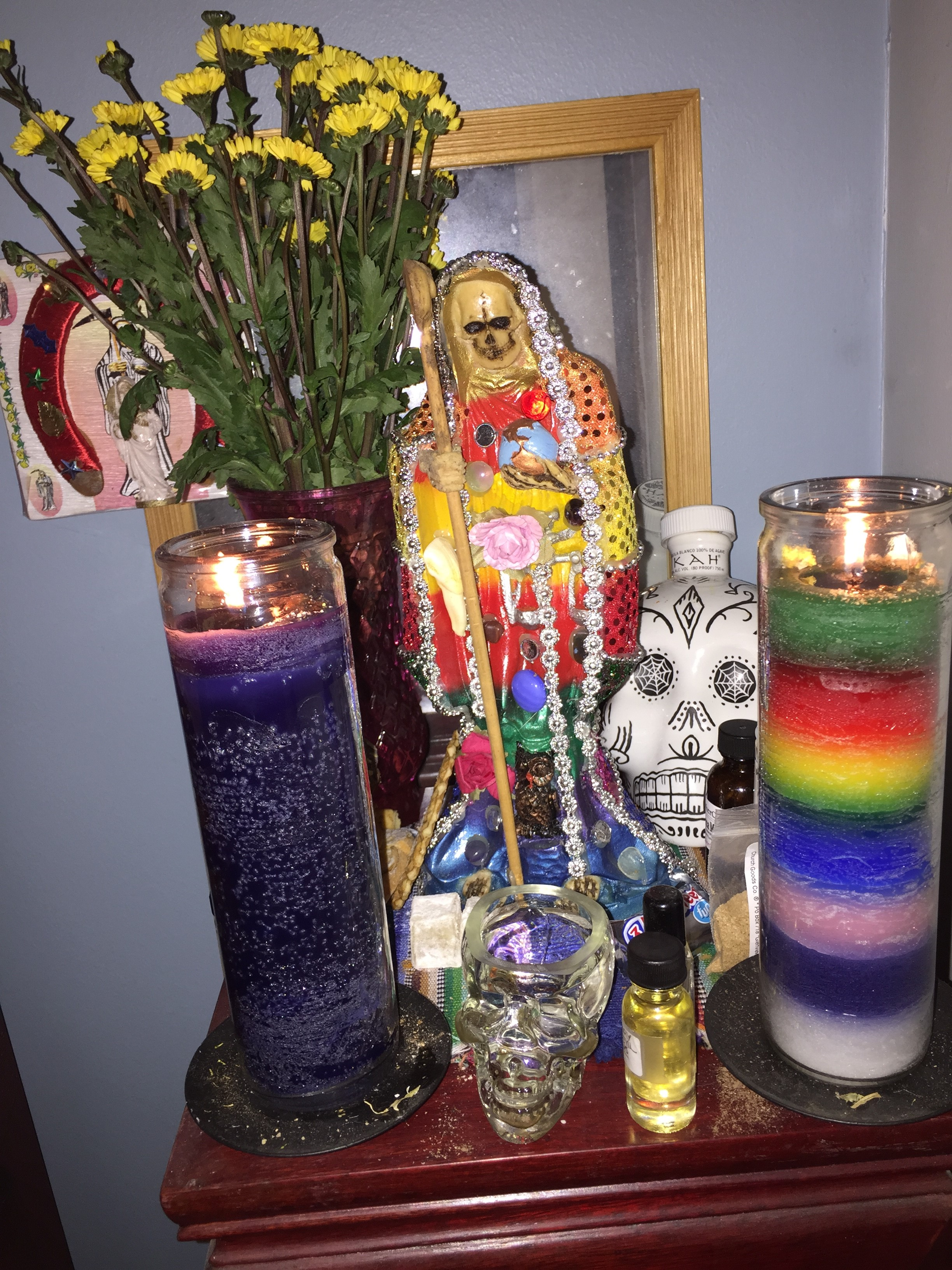 Novena to La Santa Muerte: Day 8 | amor et mortem