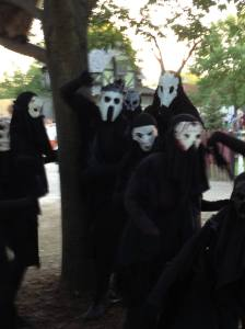 Spirits evoked by the Danse Macabre at the Bristol Renaissance Faire. Photo I took this past August.