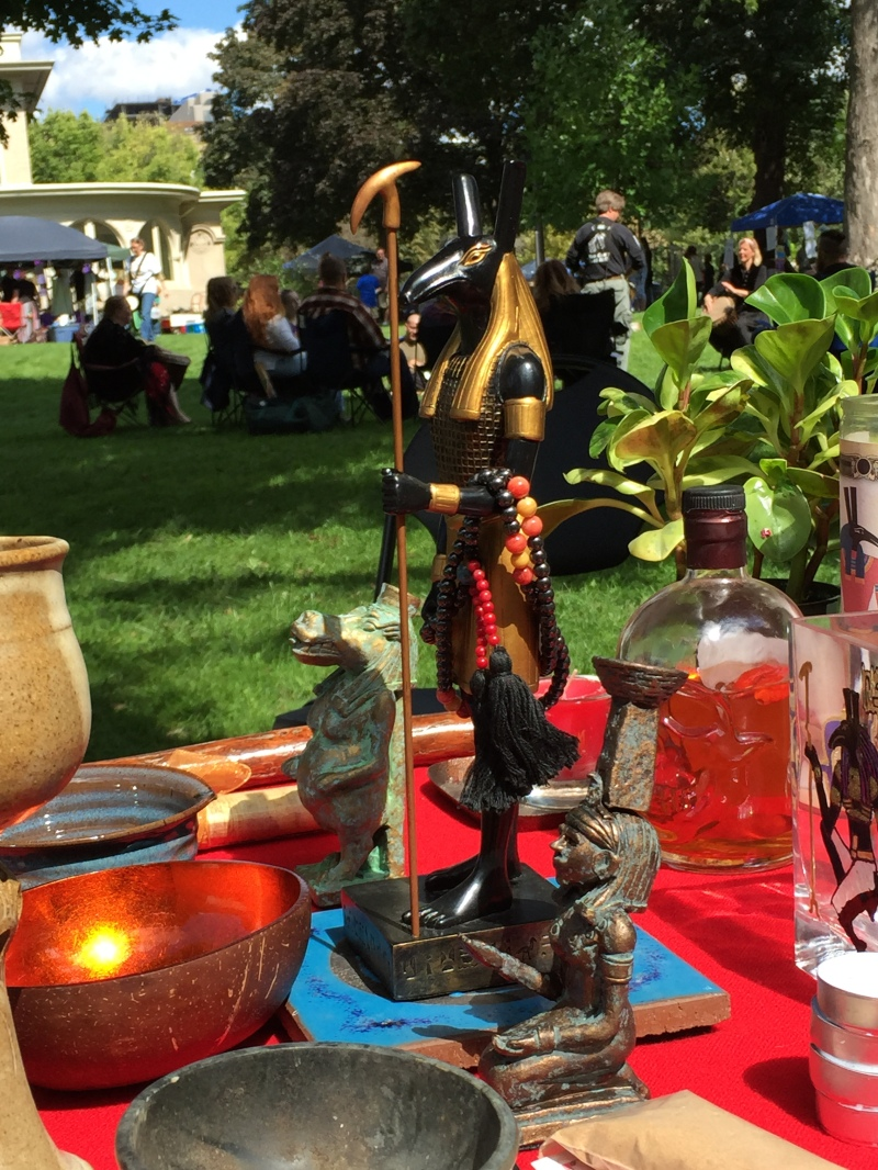 Set Shrine by A. Applegate_2015_Chicago Pagan Pride